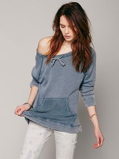 Free People Surplice Back Pullover, $98.00