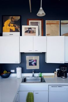 7 Things to Do with That Awkward Space Above the Cabinets   Apartment Therapy