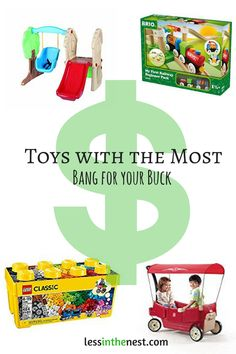 These #toys grow with your child and offer lots of opportunities for open ended #play.