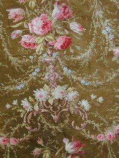 Color schemes in C French textiles, part 5 (green) Patterns In Nature, Print Patterns, Neoclassical Design, French Fabric, French Empire, Cool Fabric, Vintage Textiles, Linen Fabric, Color Schemes