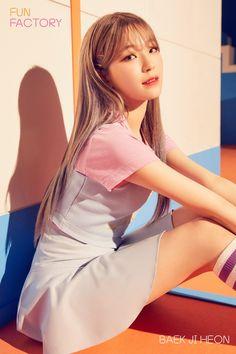 funky style on individual teaser photos 'Fun Factory' « Korean CELEB Kpop Girl Groups, Korean Girl Groups, Kpop Girls, Lovelyz Jiae, Pre Debut, Fandom, 23 November, Image Fun, Mnet Asian Music Awards
