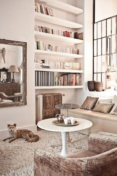 the fox and the carpet on the radiator (Keltainen talo rannalla)
