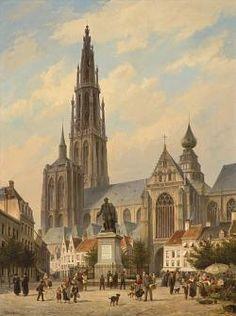 O.L.V. Kerk te Antwerpen, 1882 Cornelis Dommersen