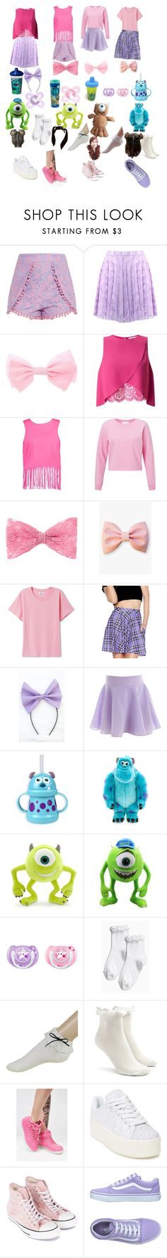 """""""4 days of boo"""" by adorkalility-1 ❤ liked on Polyvore featuring Miss Selfridge, Boohoo, WithChic, Lulu in the Sky, INC International Concepts, Disney, Naissance, Forever 21, N.Y.L.A. and Cape Robbin"""