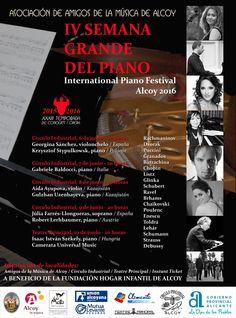 Grande Semana del Piano en Alcoy, Alicante, España