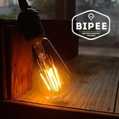 ST58 E27 4W Glühbirne LED Edison Lampe - Vintage Retro Stil Filament Birne - Ersatz 40W - 2200K warmweiß - AC 220V-240V - Nicht dimmbar - BIPEE: Amazon.de: Beleuchtung
