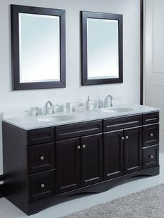 Pictures In Gallery  inch Bathroom Vanity by Wyndham Collection Double Sink Vanity VM D