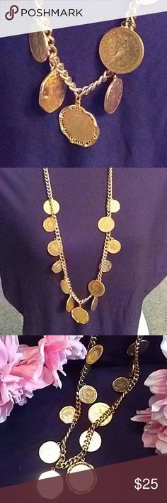 Beautiful  Coin Necklace Stunning necklace with African coins. Accessories