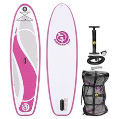 Airhead Bliss 930 Inflatable Stand Up Paddle Boards Inflatable Paddle Board, Inflatable Kayak, Stand Up Paddle Board, Kayak Storage Rack, Mesh Backpack, Sup Boards, Sup Surf, Sports Toys, Paddle Boarding