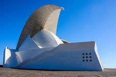 Auditorio de Tenerife - Santa Cruz de Tenerife, Canary Islands.