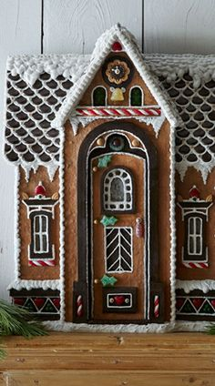 Santa's Chalet Gingerbread House by Shop@Home