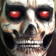 Face painting /Halloween by carmendesigns.com