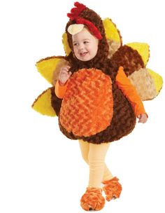 PartyBell.com - #Turkey Child Costume