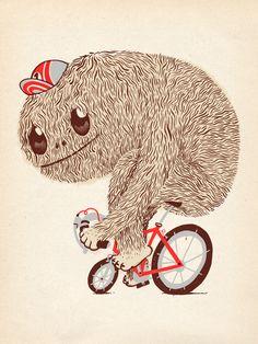 Illustration 2011 by Bert van wijk, via Behance
