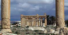 A Palmyre, le temple de Baalshamin détruit à l'explosif par les djihadistes