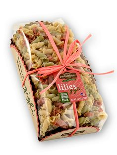 Italian inspired lilies pasta made with 100% durum wheat and all-natural ingredients.