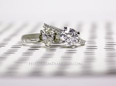 Solitaire Diamond, Diamond Engagement Rings, White Gold, Crystals, Jewelry, Jewlery, Bijoux, Jewerly, Crystals Minerals