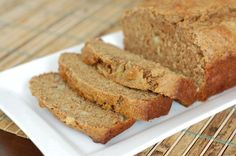 Loved this banana bread!  NO sugar and whole wheat (just 1/4c honey) Recipe: Whole-Wheat Banana Bread from 100 Days of Real Food  *made 9/22/13