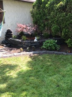 With the addition of several plants I think it's all done!!