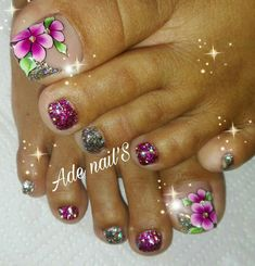 Vanessa Nails, Toe Nail Designs, Toe Nails, Nail Art, Beauty, Toenails, Nail Designs, Nail Arts, Designed Nails