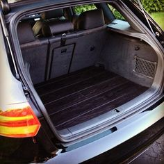 Finished my black #wood #trunk today with @tomrykr #audi #a3 #diy