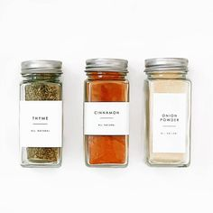I sell spice and pantry labels.