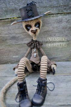 Dark Alley Cat Beth by VeronikaLozovaya on deviantART