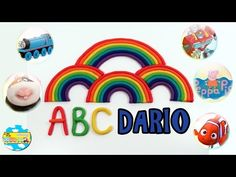 ABECEDARIO PARA NIÑOS EN ESPAÑOL - Learn Alphabet with Play Doh Spanish Aprende letras con juguetes - YouTube