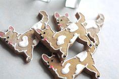Corgi Gingerbread Cookies. $22.20, via Etsy.