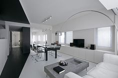 Witte woonkamer ideeën | Interieur inrichting