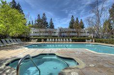 Pool at the Biltmore in Cupertino, CA