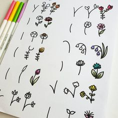 36 Simple Doodles You Can Easily Copy in Your Bullet Journal - Simple Life of a . - 36 Simple Doodles You Can Easily Copy in Your Bullet Journal – Simple Life of a Lady - Bullet Journal Notes, Bullet Journal Aesthetic, Bullet Journal Ideas Pages, Bullet Journal Inspiration, Doodle Inspiration, Doodle Drawings, Easy Drawings, Simple Doodles Drawings, Simple Cute Drawings