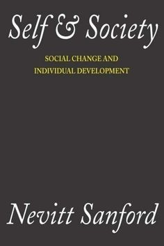 Self and Society: Social Change and Individual Development $14.24 self-development-books personal-development personal-development