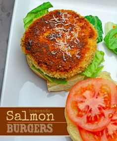 about Salmon Burgers on Pinterest | Salmon Burgers, Burgers and Feta ...