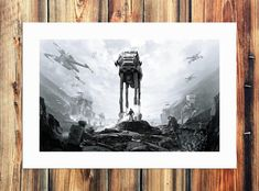 Star Wars Painting, Star Wars Art, Dark Side, Starwars, Decorating Your Home, Art Decor, Canvas, Fictional Characters, Tela