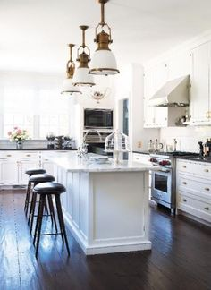 Crazy for Hardwood Floors! - Design Chic - picking the perfect color of hardwoods