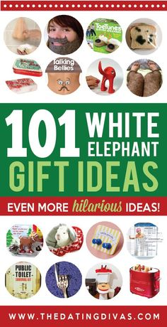 101 HILARIOUS White Elephant Gift Ideas! Ba ha ha!!