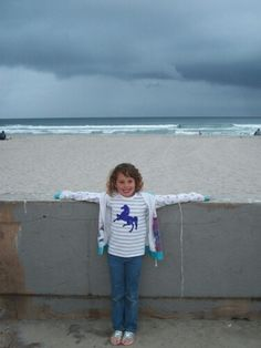 1st visit to pacific ocean