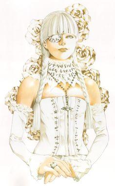artbook, beautiful, blanc et noir, corset, death Death Note, Pretty Art, Cute Art, Aesthetic Art, Aesthetic Anime, Manga Art, Anime Art, Comic Manga, Japon Illustration