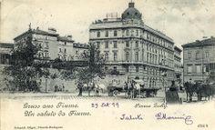 Rijeka - 1899. - Piazza Zichy
