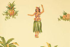 Hula Wallpaper on OneKingsLane.com