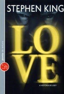 Capa do livro A História de Lisey, Stephen King