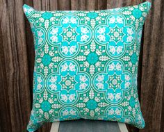 Large Cushion Covers in Historic Tile Notting by SourPussDesigns, $45.00