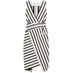 Altuzarra Jessica Stripe Dress (39.062.245 VND) ❤ liked on Polyvore