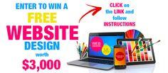 Win a Website Design http://powerteamnation.com/blog/giveaways/win-a-website-design/?lucky=226