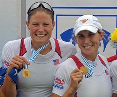 U.S. Medalists - Rowing for GOLD! Suzsanna Francia & Erin Cafaro
