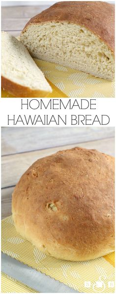 Homemade Hawaiian Bread - This bread is fantastic! The consistency is wonderful!