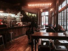 Milk and Honey is one of our favorite coffee shops