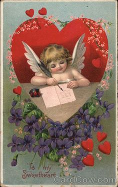 Cupid Writing a Letter