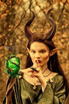 NEU VERBESSERT Junge Maleficent inspirierte von MudpiesandMajesty